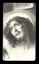 """santino-holy card """"ediz.NB n.1914 GESU' AGONIZZANTE SULLA CROCE"""