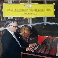 138 844/45 Bach Das Wohltemperierte Klavier Book 1 / Kirkpatrick TULIP 2 LP set