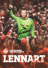 Autogrammkarte 17/18 Lennart Grill 1.FC Kaiserslautern AK 2017/2018 FCK signiert