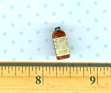 Dollhouse Miniature Size COD LIVER Oil Medicine Bottle