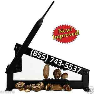 NEW Nut Cracker for English/Black Walnuts Pecans sheller opener tool Made in USA