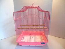 Wire Bird Cage In Pink Pretty Garden / Decor