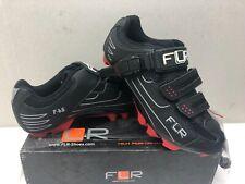 FLR F-65 II Cycling Shoes MTB Black Men's Woman's (size Uk 6, Eu 39)