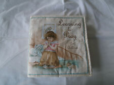 Learning to Pray Soft Cloth Book for Children, Baby, Boys, Girls, Child