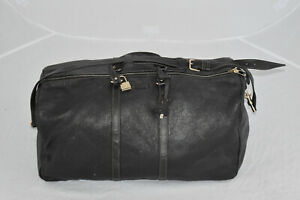 Gucci Joy Guccissima Brown Leather Monogram Signature Zip Holdall Duffle Bag Men