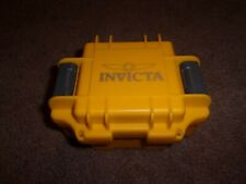 INVICTA HEAVY DUTY WATCH CASE YELLOW EMPTY PROTECTOR Single Watch