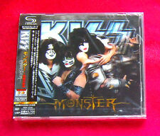 Kiss Monster SHM CD 3D COVER + 1ST PRESS POSTER JAPAN UICY-75380