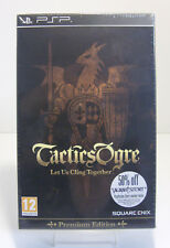 Tactics Ogre Let Us Cling Together Premium Edition Sony PSP **Neu & OVP**NEW**