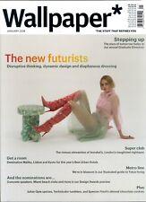 Wallpaper January 2018 Next Generation-Julian Opie-The New Futurists-Stepping Up