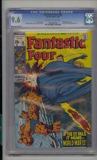 Fantastic Four #95 CGC 9.6 NM+ Unrestored Medusa Inhumans Crystal leaves FF OW/W
