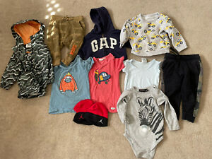 Boys Winter Bulk Lot Gap, Jack & Milly, Rock Your Baby, Sprout  Sz 2/ 1/18 Mths