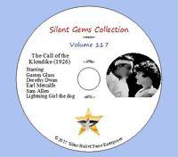 "DVD ""The Call of the Klondike"" (1926) Classic Silent Drama"