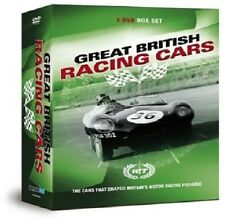 RACING THROUGH TIME  GREAT BRITISH RACING CARS Aston Martin DB5 Jaguar C D Lotus