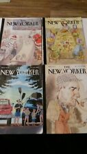 4 The New Yorker Magazine bundle 2018 August 20th November 26 December 17 & 24th
