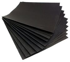 12 X ASSORTED WET DRY SAND PAPER FINE EXTRA FINE MEDIUM COARSE SHEETS ABRASIVE