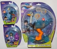 Disney Junior - Miles From Tomorrowland - Merc Deluxe Figure + 2 Figures - New