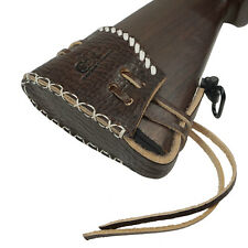 Handmade Leather Slip On Recoil Pad with Adjustable Lace Shoulder Protective Pad
