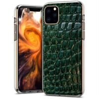 Protective Clear Thin Gel Phone Case Apple iPhone 11 Pro Max,Alligator Print