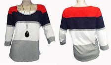 Sheego Damen-Shirts mit Rundhals-Ausschnitt für die Freizeit