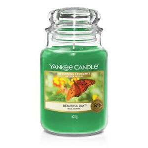 Beautiful Day - Yankee Candle Large Jar New Limted Edition