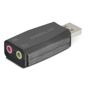 Speedlink Vigo Usb External Sound Card Black