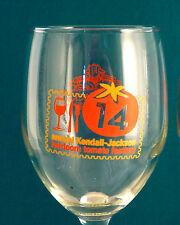 KENDALL-JACKSON WINERY, Calif. 14th HEIRLOOM TOMATO FESTIVAL Pair 2 Wine Glasses