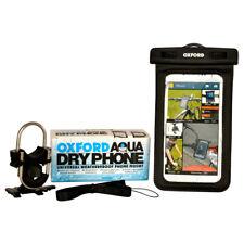 Oxford Dryphone Waterproof Motorcycle Handlebar Phone Mount Motorbike GPS Holder