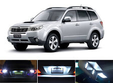 White LED Package - License Plate + Vanity + Reverse for Subaru Forester (8 Pcs)