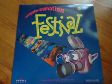 Computer Animation Festival Laser Disc Movie C.  1993 55 Minutes