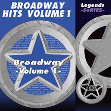 Broadway Musical Karaoke CDG CDs Broadway Musicals Legends Volume 1