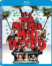 Blu Ray IT'S A MAD MAD MAD MAD WORLD. Spencer Tracy. UK compatible. New sealed.