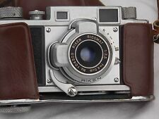 """**Vintage** Ricoh """"35"""" Rangefinder Film Camera w/Case #C010d"""