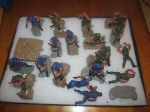 large group of 1974 Mattel hero in action. army . swat