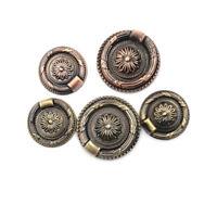 Retro Cabinet Knob Drawer Dresser`Door Cupboard Drop Ring Pull Handle HomeDe fg