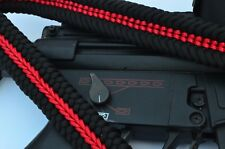 Paracord Tactical Rifle Gun Shotgun bow Sling Single or 2 Point THIN RED LINE