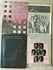 2 Vintage Rock Songbooks, Stairway to Heaven &51 Classics,Three Dog Night+2Gifts