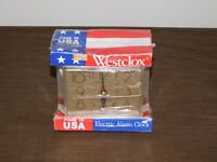 VINTAGE WESTCLOX USA ELECTRIC ALARM CLOCK NEW UNOPENED PACKAGE