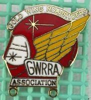 Vtg Pin Goldwing Road Riders Ass GWRRA Club Chapter Member Association Pin Logo