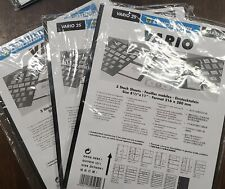 Vario 2S Leuchtturm Pages, 3 Packages - 15 Stock Sheets Total(E55)