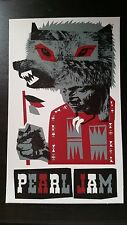 Pearl Jam 2005 Canadian Tour Wolf Sticker Official Ames Bros