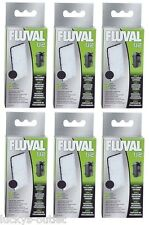 (6) FLUVAL U2 UNDERWATER FILTER POLY/CARBON A490 2PKS.