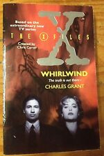 The X-Files: Whirlwind, Charles Grant Book TV Show 1995 Paperback Novel Scully