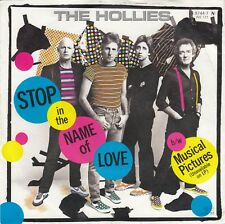 "THE HOLLIES STOP IN THE NAME OF LOVE 1983 RECORD GERMANY 7"" PS"