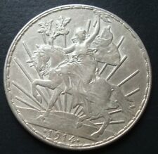 1914 MEXICO $1 peso silver horse beautiful coin please see the coin RARE