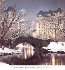 New! Twilight in Central Park by Rod Chase Fine New York City Art Print 660126