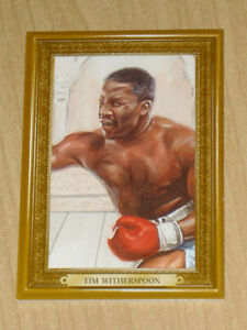 Ringside Boxing Turkey GOLD parallel Tim Witherspoon /9