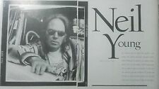 Neil Young report spanish dominical magazine 1995