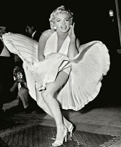 "Marilyn Monroe 1954 New York City The Seven Year Itch Photo (Size: 8"" X 10"")"