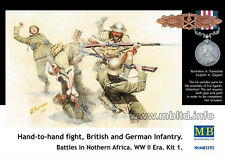 Master Box 3592 Hand-to-hand fight British and German infantry North Africa 1:35