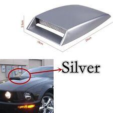 Universal Decorative car hood vent 3D Air Flow Intake Vent Cover Self-adhesive